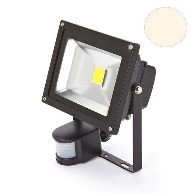 Super Led bouwlamp met sensor 20W warm-wit - Led Wereld JK62