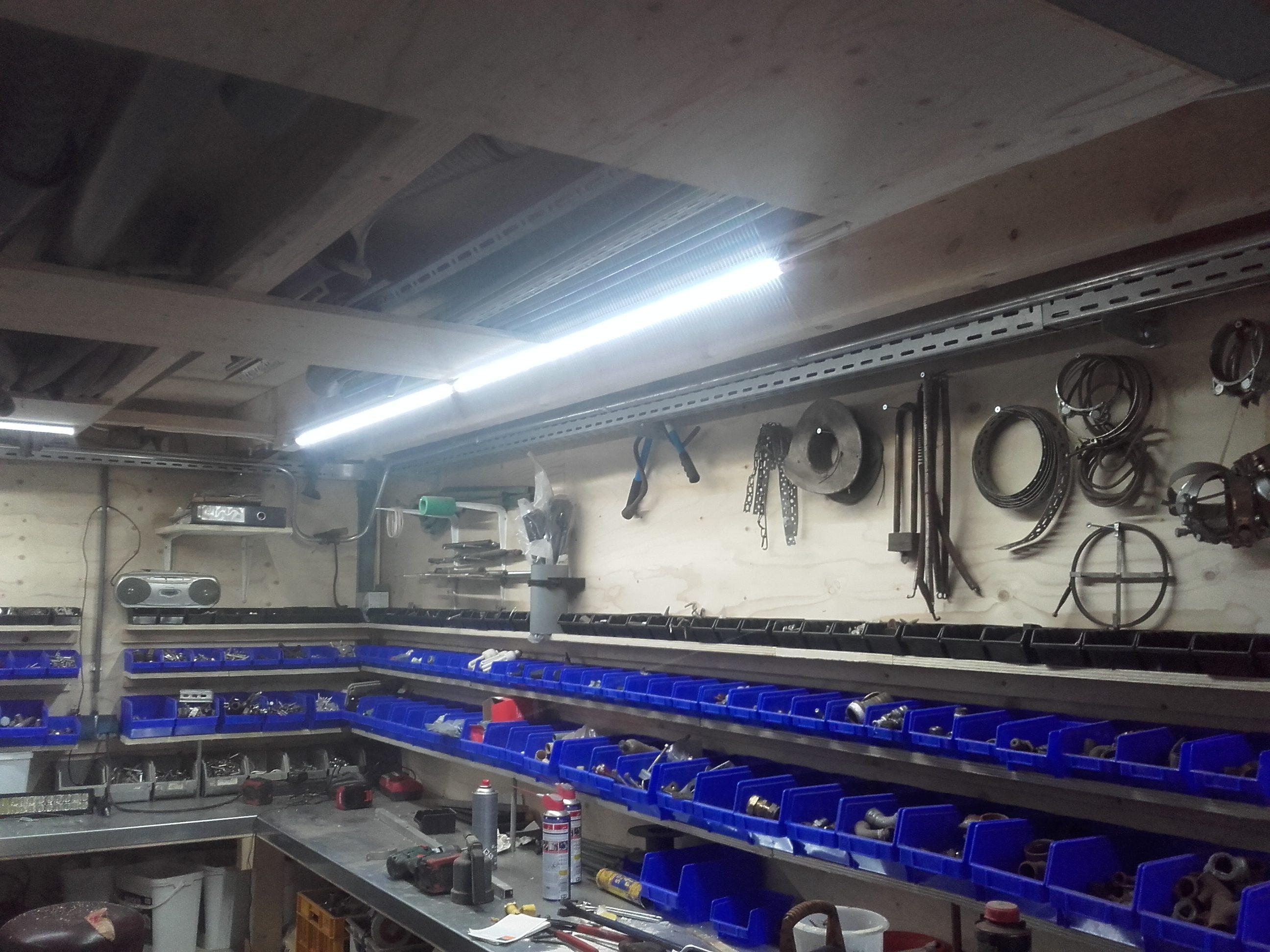 Led TL armatuur 120 cm Pro koud-wit | Led Wereld