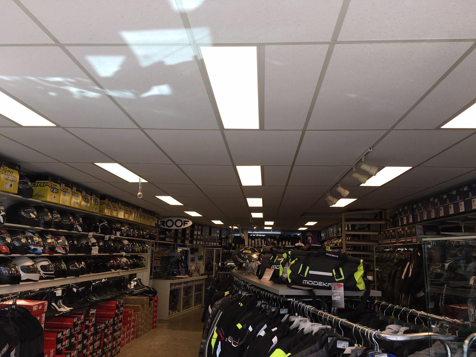 led verlichting voor winkels
