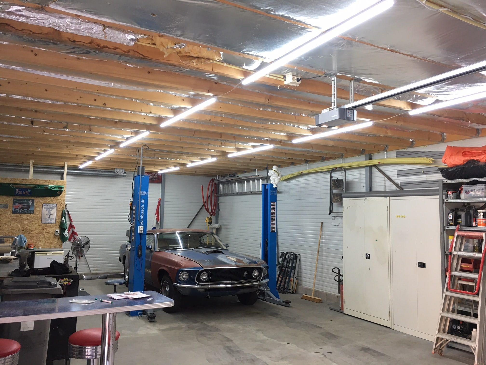 Verlichting Voor Garage : Led tl armatuur 150 cm pro koud wit led wereld