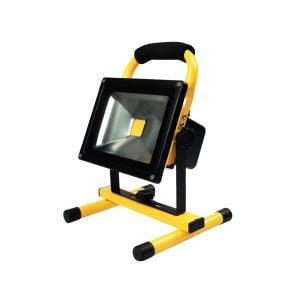 Led bouwlamp 20 Watt op accu