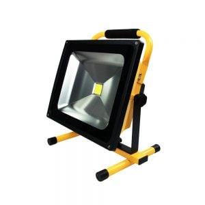 Led bouwlamp 50 Watt op accu