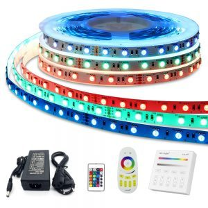 Complete set RGB Led strip