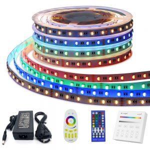 Complete set RGBW Led strip